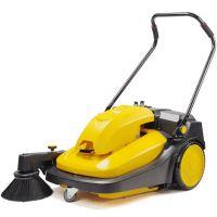特价驰洁电瓶式扫地机 工厂手推式扫地车 车间用扫吸尘车地面清扫车
