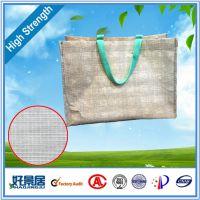 工厂直供可定制新颖独特立体感强的经纬线牛皮纸手提袋 带线纸袋
