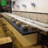 回转自助火锅麻辣烫简约现代回转寿司 深圳厂家订做多多乐家具全方位定制产品