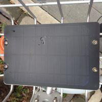 国瑞阳光厂家定做自行车专用太阳能小板 共享单车充电太阳能电池