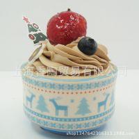 2014年新款 圣诞小鹿 慕斯瓷杯 布丁杯烘焙模具 蓝色 接受定制