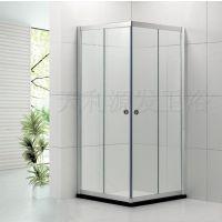 天利源发淋浴房 整体浴室浴房 特价浴屏隔断门挡水简易洗浴房