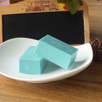 Diy手工巧克力必备纯可可脂彩色原料块 蓝色蓝莓味100g原装砖批发