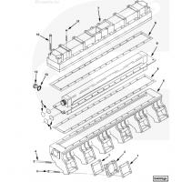 中冷器壳体垫片3092730康明斯QST30中冷器芯4975632