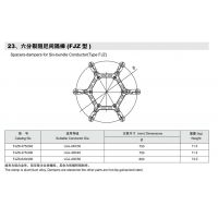 永固800KV线路用FJZ6-4500/900 六分烈阻尼间隔棒 上海永固集团股份有限公司
