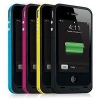 苹果手机果汁包Mophie iPhone4 4S背夹电池 外置电池 移动电源