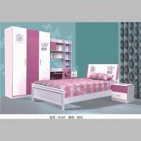 厂家批发精品儿童卧室家居 儿童套房 休闲儿童床 1.5米单人床