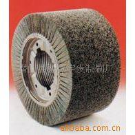 供应磨料条刷、滚刷、碳化硅毛刷在钢板清洗上应用