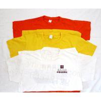 保山纯棉T恤衫广告衫,空白印字多少一顶
