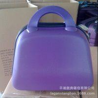 厂家外贸出口化妆包 ABS材质时尚化妆箱 13寸16寸洗漱硬化妆包