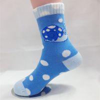 儿童袜 新1号提花儿童学生卡通袜蜗牛圆点纯棉H3098系列棉袜批发