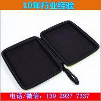 广东厂家直销黑色无异味方形手提包 EVA热压成型防震耐磨电脑包