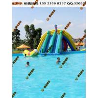 水上乐园用的支架泳池去哪买 儿童支架泳池乐园 游乐场的钢架泳池报价