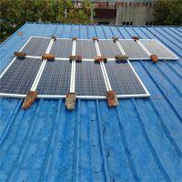 1500W家用太阳能发电机 家庭多晶太阳能发电机,屋顶独立发电系统