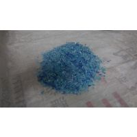 供应蓝色pet再生破碎料 适用于pet扫把丝