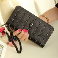 2014夏季新款 韩版女士钱包 时尚女式包长款手拿拉链包钱夹