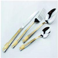 莱斯特五金制品厂 不锈钢刀叉 镀金系列餐具刀叉