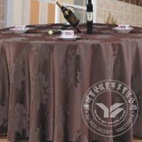 2015年厂家直销 皱纹餐厅圆桌桌布 喜庆涤纶色织圆桌布 桌布批发