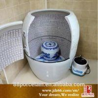 唐龙陶瓷养生瓮缸,浴室负离子养生缸,排毒蒸气浴缸