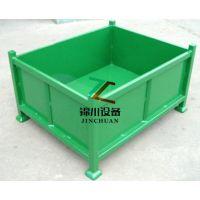 东莞锦川厂家设计定做生产物流周转料箱、钢制周转箱 可堆转箱