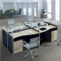 洪山屏风办公桌,木缘森办公家具,屏风办公桌拆装