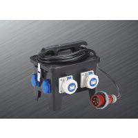 富森 定制塑料电源插座箱工业插座箱防水箱检修电源箱厂家直销