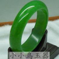 天然台湾青玉菠菜绿手镯 手镯批发款 绿色手镯批发直销款促销