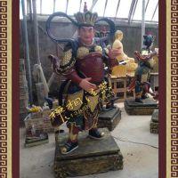 供应寺庙天王殿、四大护法(四大金刚)玻璃钢佛像厂家