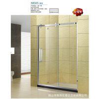 S8505   屏风 一固一移,可非标定制  全304不锈钢淋浴房