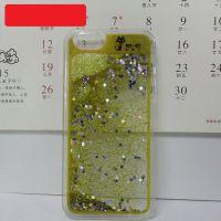 液体液态手机壳透明iphone保护套 OEM 厂家直批苹果液体流沙手机壳