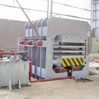 国森机械制造高精度竹制工艺板材竹地板压机