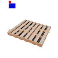 木托盘厂家直销定做实木木梁四面进叉松木熏蒸证明出口