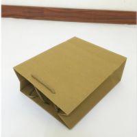 力健牛皮纸袋购物袋印刷服装礼品包装袋茶叶手提购物袋定做批发印刷