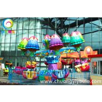 新型儿童游乐设备逍遥水母图片 价格 许昌创艺逍遥水母生产厂家