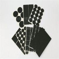 供应环保黑色圆形EVA防震脚垫 3MEVA泡棉垫 双面自粘泡沫垫 强力胶泡棉垫
