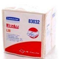 徐州代理金佰利83032 L30 工业擦拭纸 吸油吸水纸 无尘纸 24包/箱