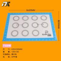 20150523003     铂金硅胶烘焙硅胶垫 玻璃纤维隔热垫烘焙揉面垫