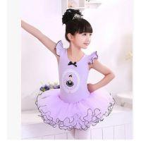 6035儿童舞蹈服装芭蕾舞裙女童舞蹈裙纯棉练功服蓬蓬裙 F1206-55