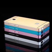 小米红米2手机壳 红米2手机保护套 金属边框加后盖 超薄保护壳