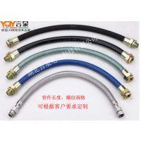 BNG (6分)DN20防爆挠性管 G3/4橡胶护套防爆软管生产厂家