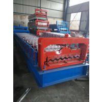 750型横挂板彩钢瓦机沧州兴益品牌压瓦机