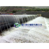 烟台桑尼气盾坝价格 高品质钢盾橡胶坝 特种钢板橡胶坝