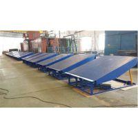 启运牌 固定式登车桥升降平台固定物流仓储集装箱装卸移动叉车平台