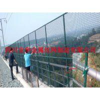 安华专业生产公路护栏网 框架护栏网(热镀锌处理工艺) 铝合金材质