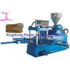 Sinlge Color 2 PCS Mold Stations Shoe Making Equipment For Slipper / Sandal
