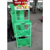 【厂家直销】福临门广告陈列架食用油落地展示架油品塑料组合展柜