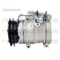 沃尔沃460B空调压缩机-沃尔沃空调蒸发箱-沃尔沃冷凝器-沃尔沃挖机配件