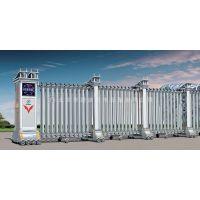 供应不锈钢伸缩门无轨自动门遥控移动工厂小区大门