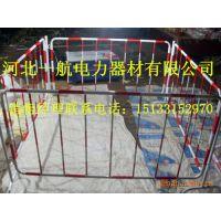 一航厂家自产自销伸缩施工玻璃钢移动式伸缩绝缘围栏电力设备护栏