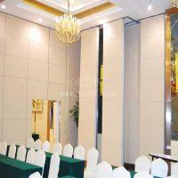 可成超高型扪布艺隔墙简约大气可折叠推拉隔墙屏风无地轨吊挂